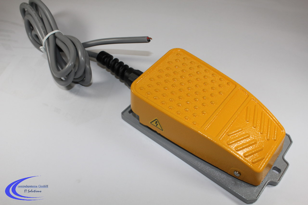 Industrie Fußschalter / Fußtaster / Fussschalter - 10 A / 250V ...