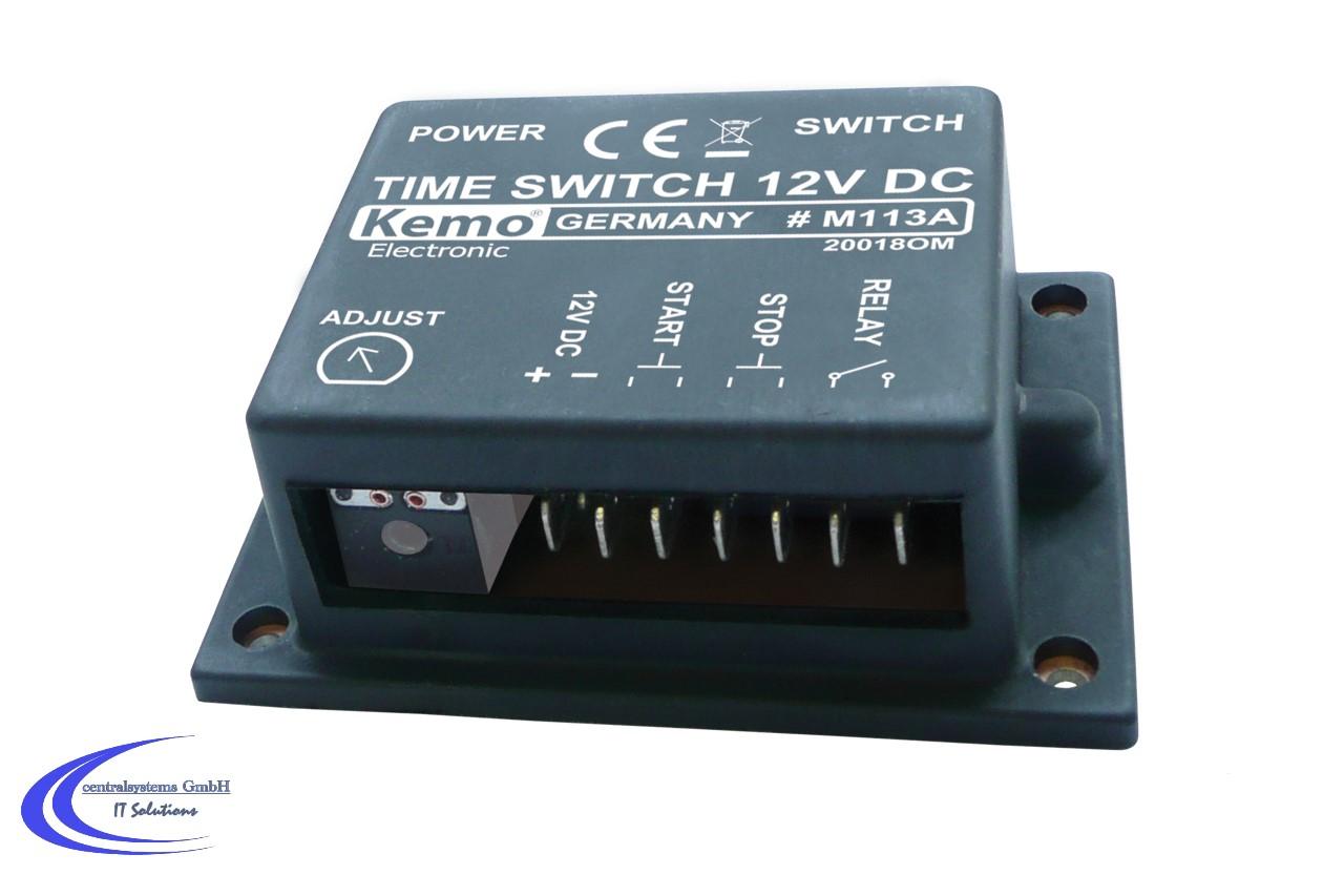 5 x DC 12V Zeitverzögerung Modul Delay Timer Schalter Ne555 Zeitschaltuhr