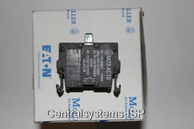 M22-KC10 Schließer NEU /& OVP 216380 Moeller // Eaton Kontaktelement Boden